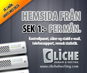 Cliche Webhosting