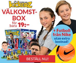 kickerz-valkomstbox