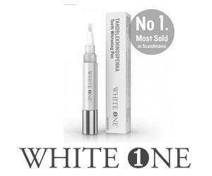 whiteone-tandblekningspennan